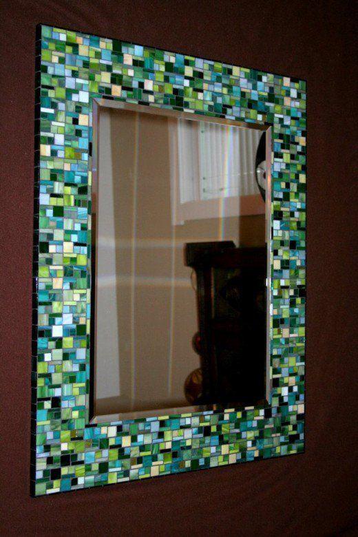 989 Best Images About Mosaic Frames And Mirrors On
