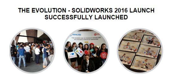 If you have missed our launch, no worries! We have many upcoming free seminars on SOLIDWORKS 2016, you may register for the free seminars at www.seacadtech.com/cal/