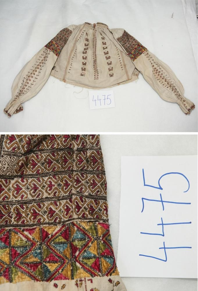 Romanian blouse | The Ethnographic Museum