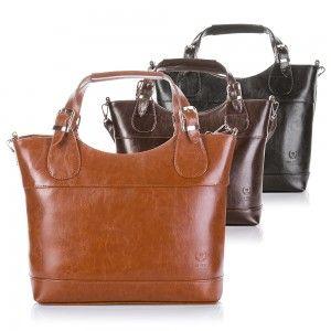 Leather #womenbag at www.SuperGalanteria.pl http://supergalanteria.pl/ona-produkty-dla-kobiet/torebki-damskie/skorzana-torebka-damska-paolo-peruzzi-shopper-bag-z-999-pp