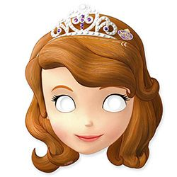 Sofia the First Paper Masksrt