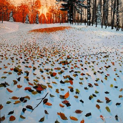 Autumn Creek by Mark Berens at Crescent Hill Gallery