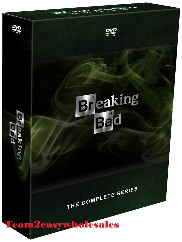 Brand New Breaking Bad: The Complete Series (DVD 2014 21-Disc Set) season 1-6