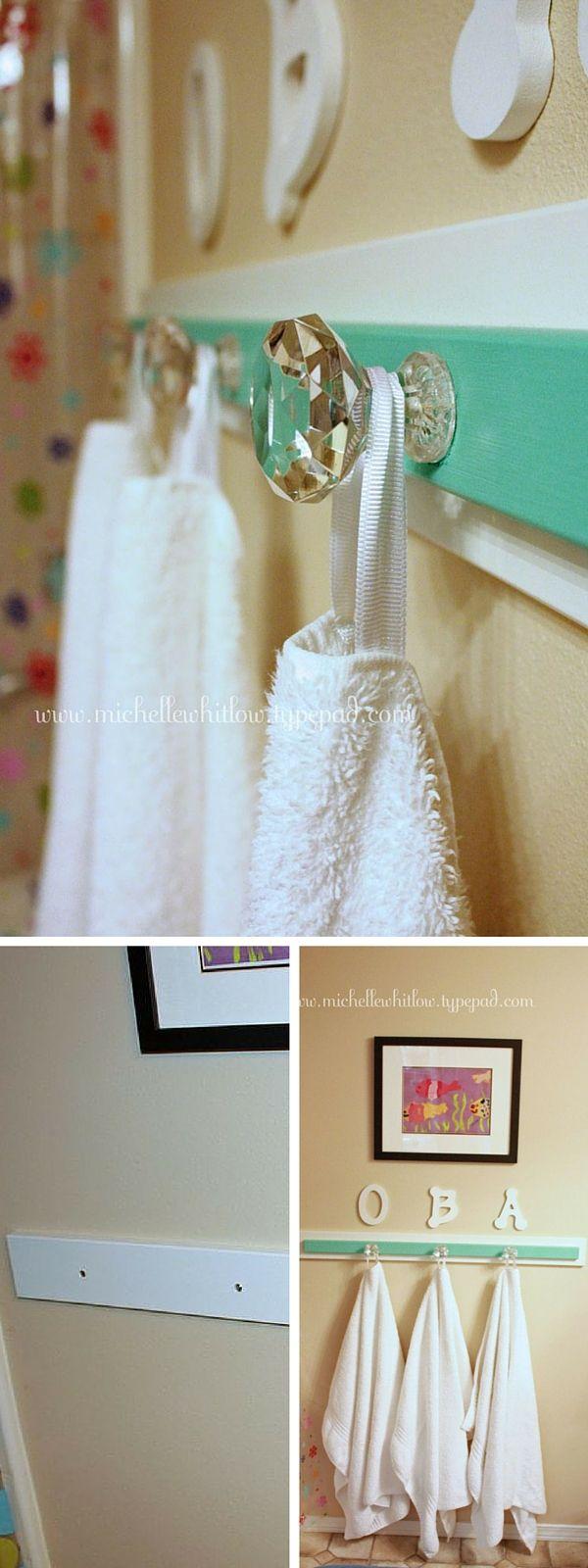 Bathroom towel hooks ideas