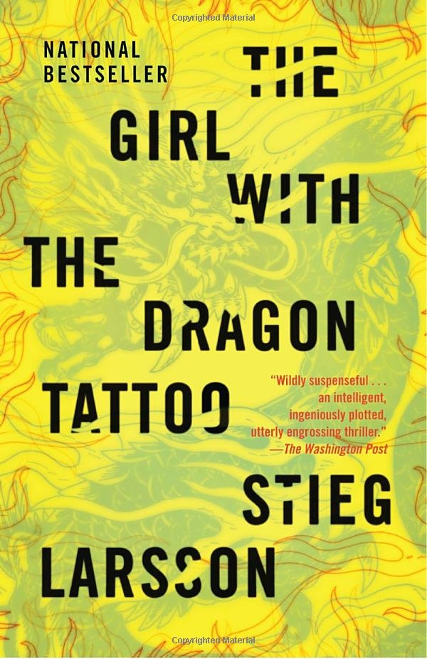 The Girl with the Dragon Tattoo: Worth Reading, Books Jackets, Dragontattoo, Stieglarsson, Books Worth, Stieg Larsson, Favorite Books, Dragon Tattoo, Good Books