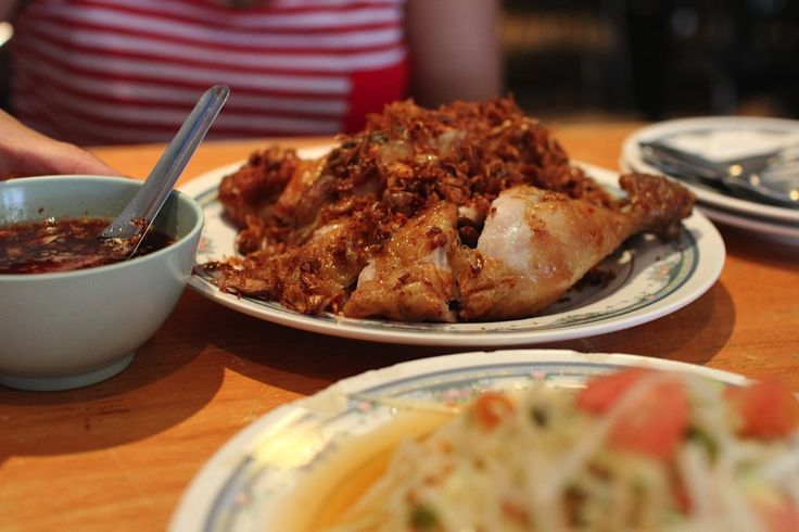 The best fried chicken you'll find in Bangkok at Soi Polo Fried chicken.  Read about our experience here http://chasingaplate.com/soi-polo-fried-chicken-bangkok/ Image by Thomas Southam