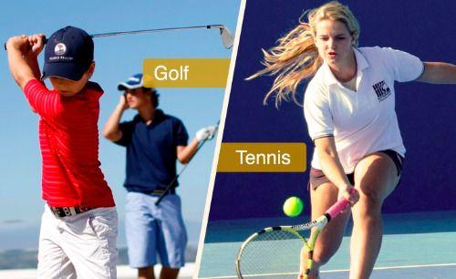 Campamentos de verano 2016 de deportes (tenis o golf) + idiomas (inglés o español) en Sotogrande International School https://www.campamentos.info/Campamentos-de-verano/Espana/Andalucia/Campamentos-de-Golf-o-tenis-Sotogrande-International-School-651