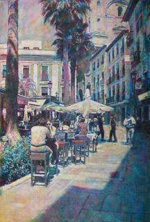 Plaza Romanilla by Emilio Pérez Romero