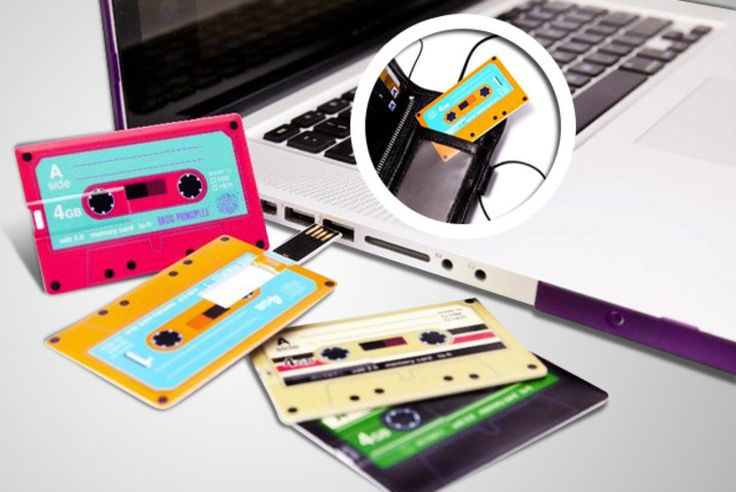 Retro Mixtape USB Memory Card
