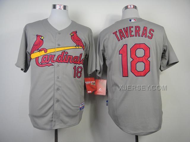 http://www.xjersey.com/cardinals-18-taveras-grey-jerseys.html CARDINALS 18 TAVERAS GREY JERSEYS Only $34.00 , Free Shipping!