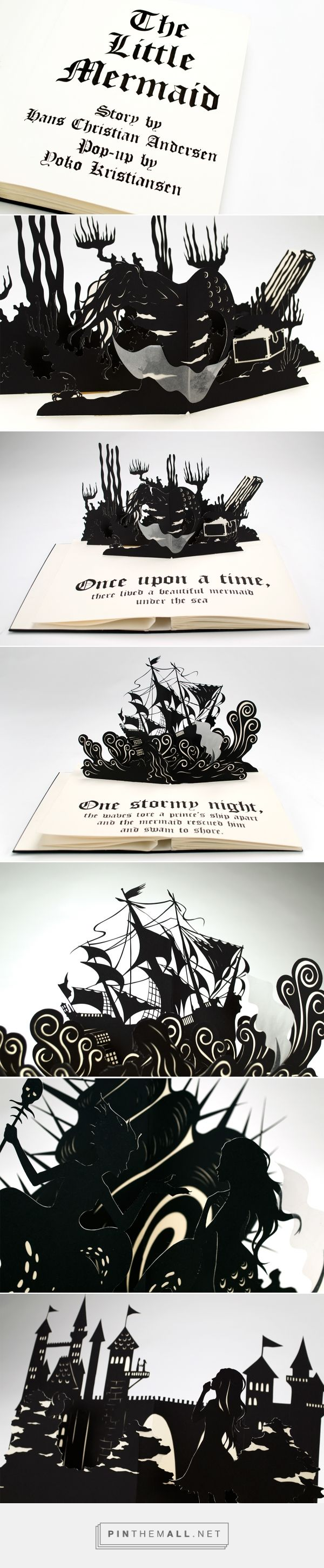 The Little Mermaid Pop-Up Book on Behance