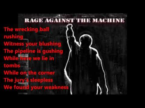 rage against the machine sabotage