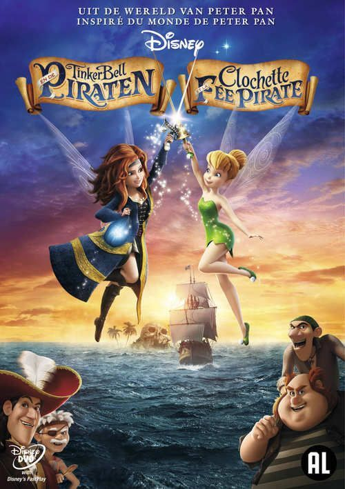 TinkerBell en de Piraten (DVD) #disney #disneydvd #disneyclassics #tinkerbell #piraten