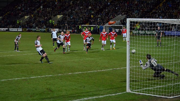 Notts County FC: 150 years. No.5: Jeff Hughes penalty
