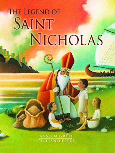 The Legend of Saint Nicholas by Anselm Grun http://www.amazon.com/dp/0802854346/ref=cm_sw_r_pi_dp_LKpLub1PKAXNS