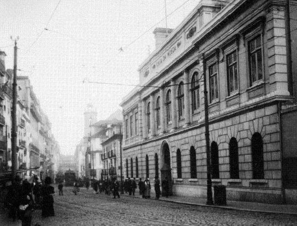 Rua de S. Paulo - Casa da Moeda - 1901