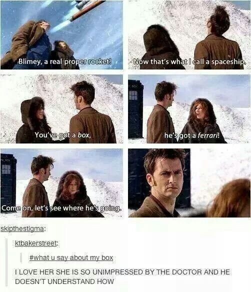Doctor Who Challenge Day 22 | Favourite friendship? The tenth Doctor and Donna. They are so great and funny together. I love them. But just as friends. :))