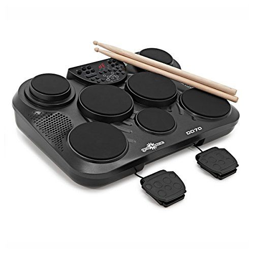 From 109.99 Dd70 Portable Electronic Drum Pads By Gear4music