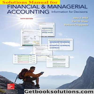 200 best solutions manual images on pinterest download solution manual for financial and managerial accounting 6th edition by wild fandeluxe Image collections