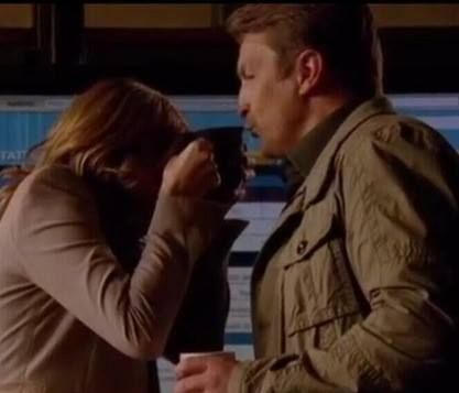 Nathan fillion and stana katic behind the scenes - photo#17