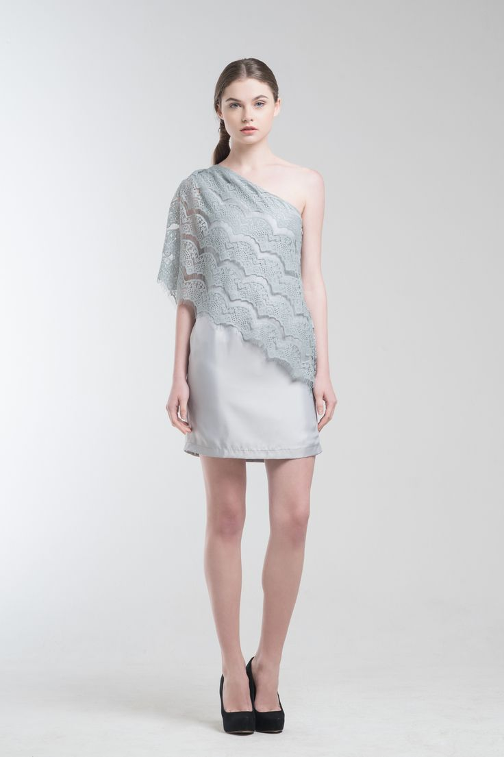 Jade Dress in Grey from Jolie Clothing  #JolieClothing www.jolie-clothing.com  #Fashion #designer #jolie #Charity #foundation #World #vision #indonesia  #online #shop #stefanitan #fannytjandra #blogger