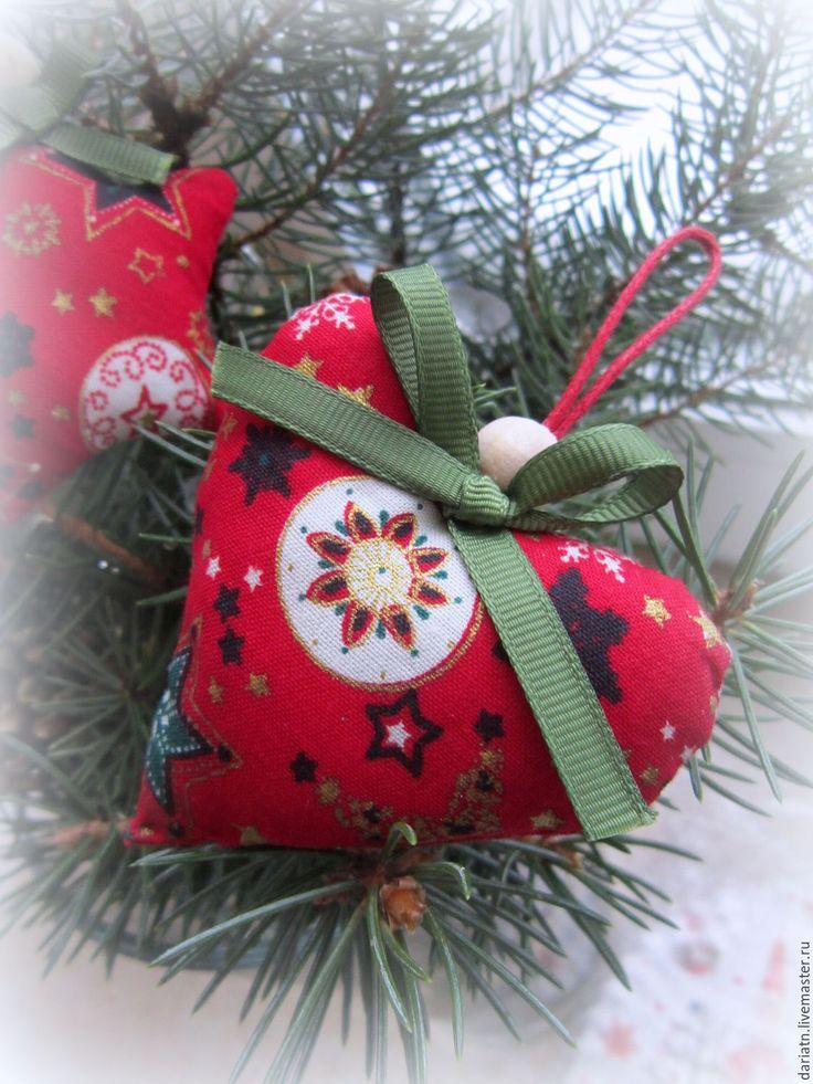 """Купить Елочные игрушки-подвески """"Праздничный хоровод"""" - новый год 2016, Новый Год, елочные игрушки"""