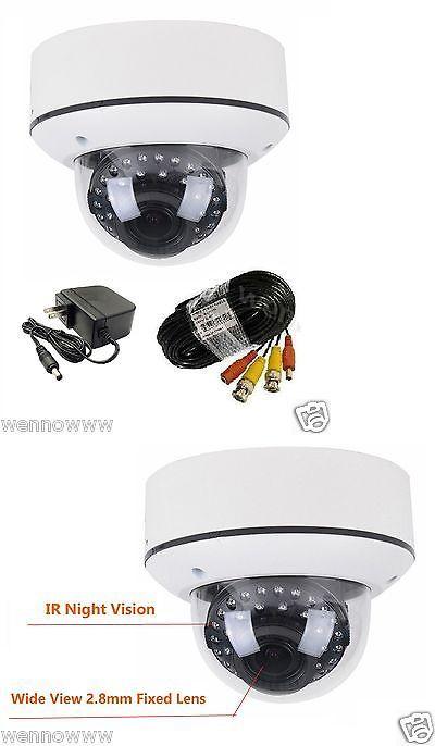 Dummy Cameras: Vari-Focal 2.8-12 Mm Outdoor Indoor Security Camera For Home Cctv Dvr System -> BUY IT NOW ONLY: $65.38 on eBay!