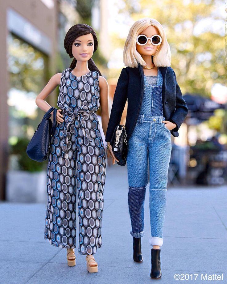 70.6 тыс. отметок «Нравится», 683 комментариев — Barbie® (@barbiestyle) в Instagram: «Overall, I have to say, I love our looks!  #barbie #barbiestyle»