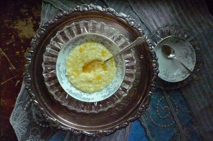 Vanilla Orange Blossom Rice Pudding with Honey Cardamom Syrup - Ladies Who Brunch