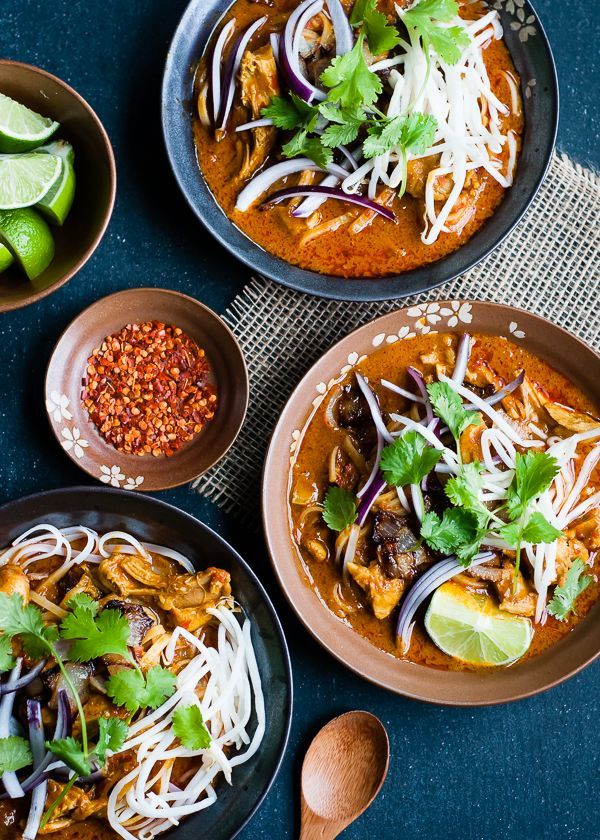 Thai Chicken Khao Soup