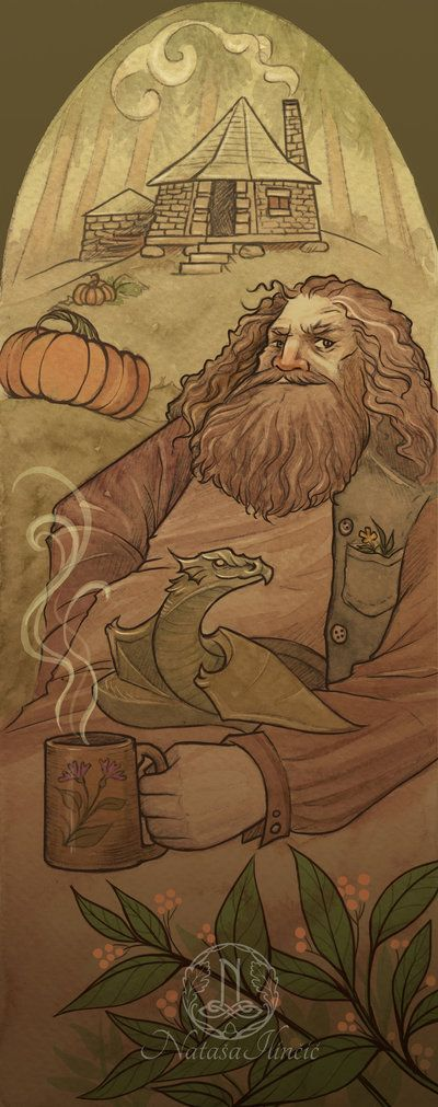 Hagrid by UnripeHamadryad.deviantart.com on @DeviantArt