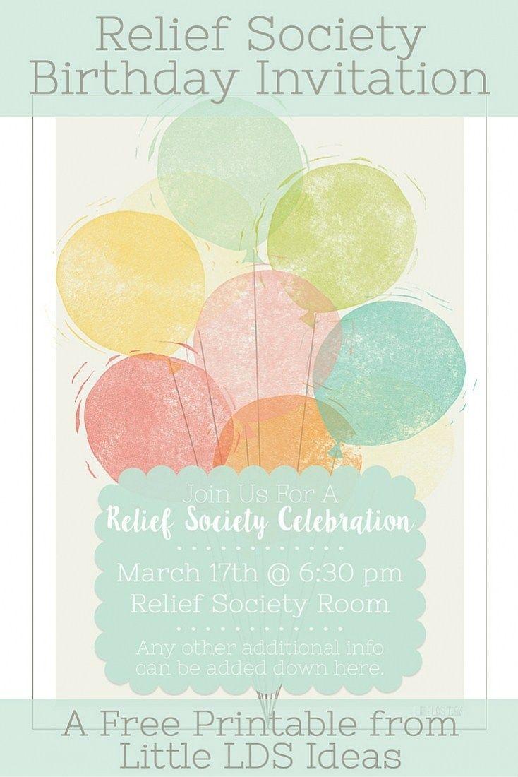 Relief Society Birthday Celebration pic