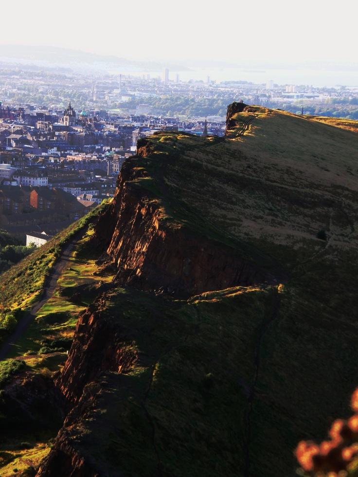 Arthur S Seat In Edinburgh Scotland Paysages D Ecosse