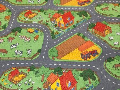 Dětský koberec Farma 5201 šíře 4m