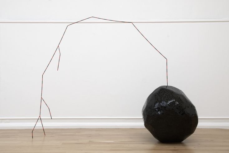Eva Rothschild - the rock and the arch, 2007