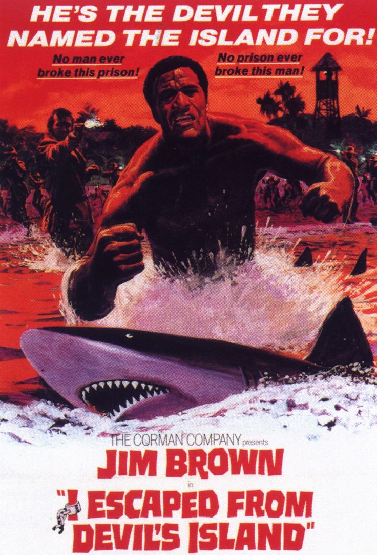 I Escaped from Devil's Island (1973) Director: William Witney Stars: Jim Brown, Christopher George, Richard Ely