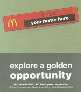 McDonalds Employment Information