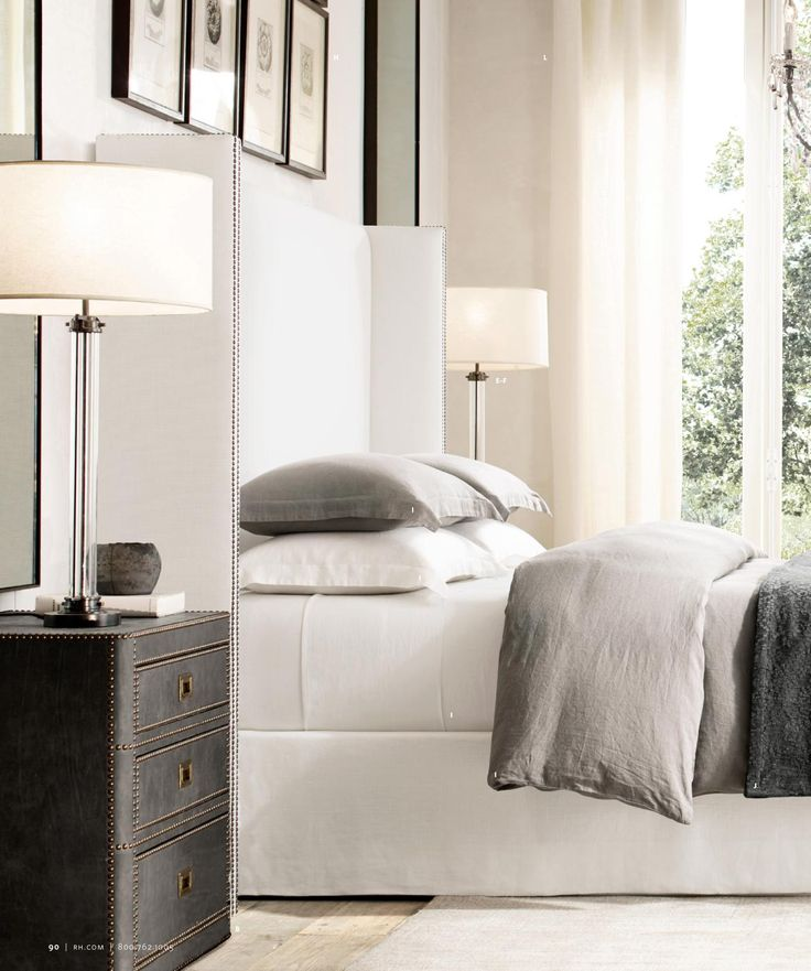 25 best ideas about restoration hardware bedding on - Restoration hardware bedroom furniture ...