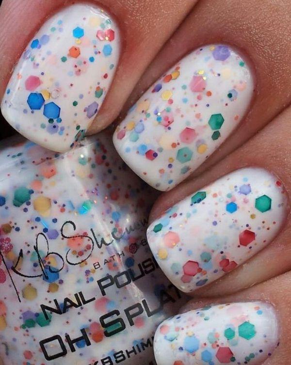 nägel lackieren muster nagellack