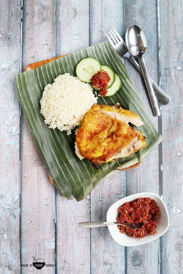 Make your own smashed fried chicken (ayam penyet) without deep-frying and still taste like it is   What To cook Today #healthyfood