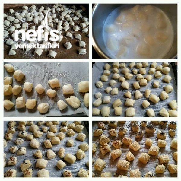 Yumusak Lokmalik Ekmekcikler (Laugenkonfekt)