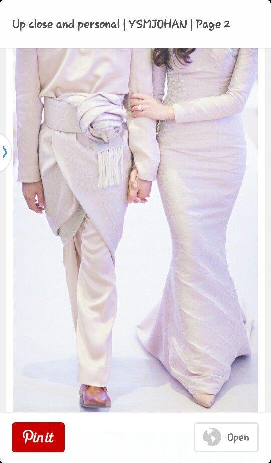 Songket for bride n groom