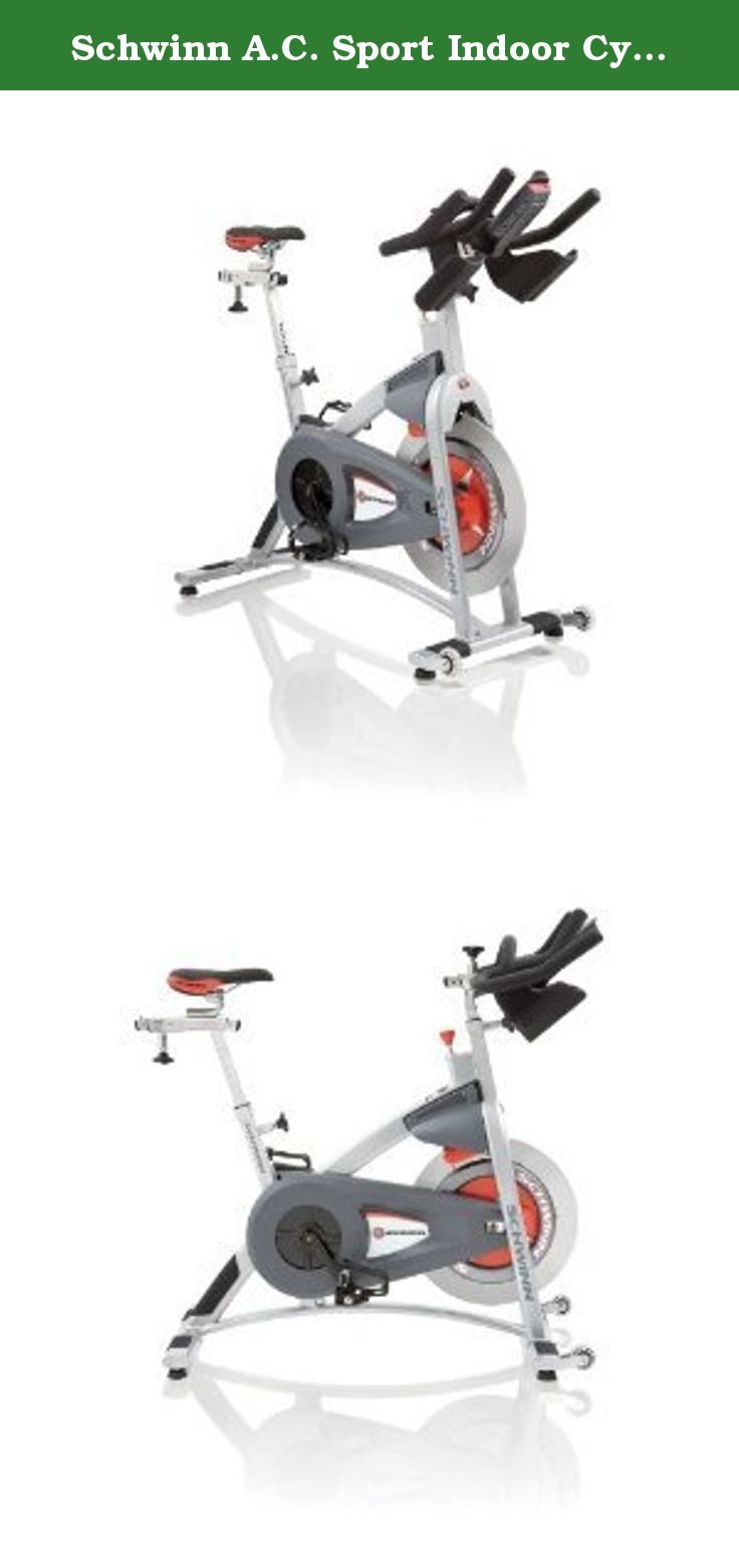 Schwinn A.C. Sport Indoor Cycle Trainer. The Schwinn A.C. Sport bike features Virtual Contact Resistance Technology - this innovative system utilizes magnets and an aluminum disk to generate a no contact heat free resistance. These innovations produces no noise and requires no maintenance, unlike friction systems. Smart Release provides on-demand coasting. Saves wear-and-tear on knees when reducing pedal rpm compared to fixed gear only bikes. The Schwinn A.C. Sport also includes…