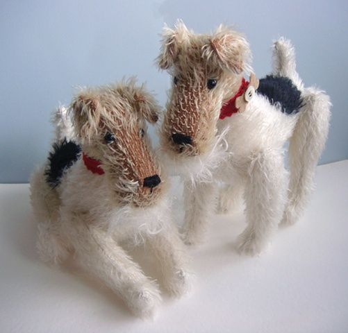 Wire Haired Fox Terrier Little Toy Dog