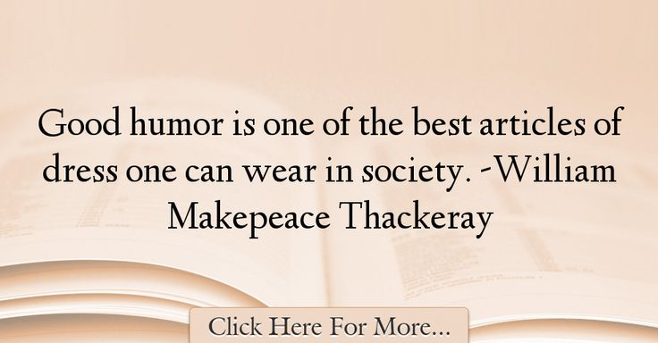 William Makepeace Thackeray Quotes About Attitude - 4677