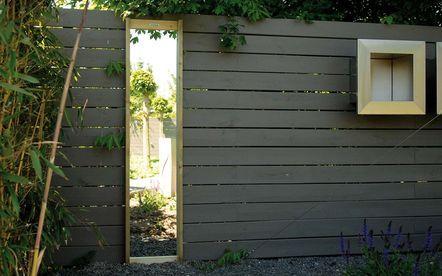 17 beste idee n over tuin spiegels op pinterest buiten spiegel privacy in de tuin en kleine - Tuin en deco ...