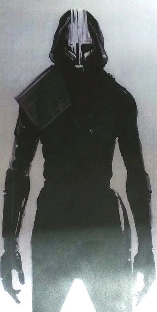 Knights of Kylo Ren concept art from Star Wars Episode VII The Force Awakens