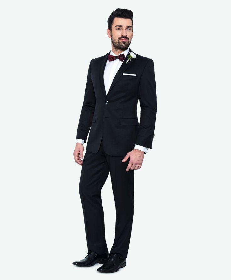 Kolekcja ślubna Giacomo Conti: taliowany garnitur na ślub (100% wełna, model Marco 2 14/05MB) #giacomoconti