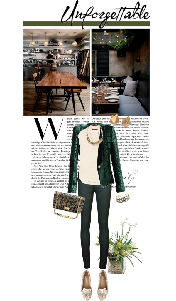 """Emerald City"" by maude-lebowski ❤ liked on Polyvore"