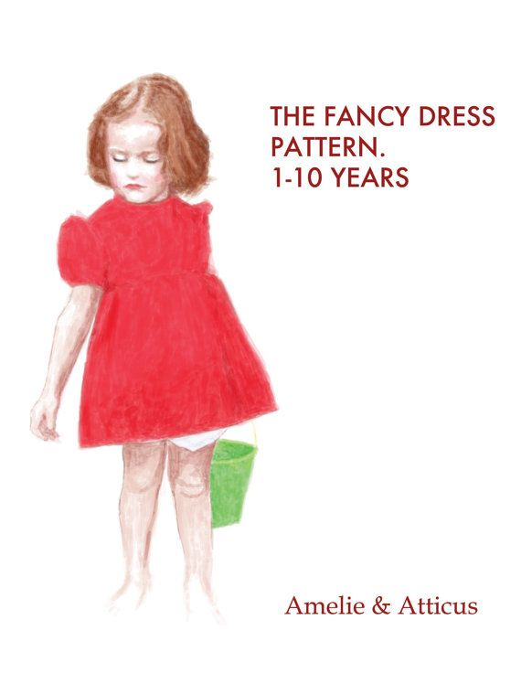 PDF Costume Pattern - The Fancy Dress and Bloomers Cosplay Costume PDF Pattern 4 Ponyo, Princesses, Warriors, Party Dresses, Adventure Time